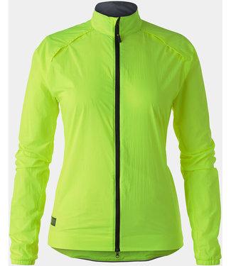 BONTRAGER Circuit Wind Jacket - Women - Radioactive Yellow- Medium