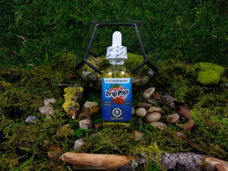 Vape 7 Daze Drip Pops Blue Raspberry