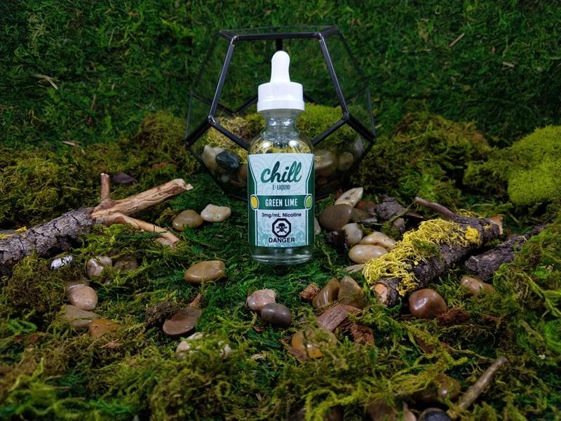 Chill E-Liquid Green Lime