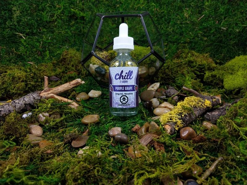 Chill E-Liquid Purple Grape