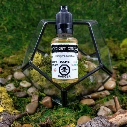 West Coast Vape Nic Salts Rocket Drops Salt