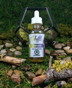 Chill E-Liquid Lemon Grape