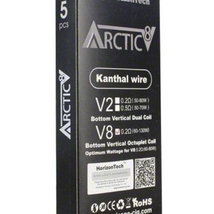 Horizontech Horizon Tech Arctic 8 V2 Replacement Coils