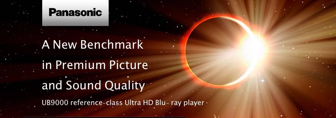 Panasonic UB9000 Reference Bluray player