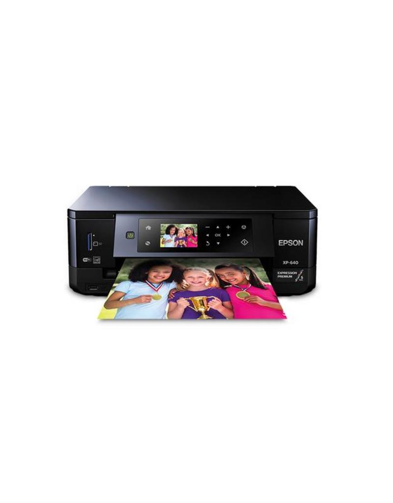 EPSON EPSON EXPRESSION PREMIUM XP-640 COLOR ALL-IN-ONE INKJET PRINTER