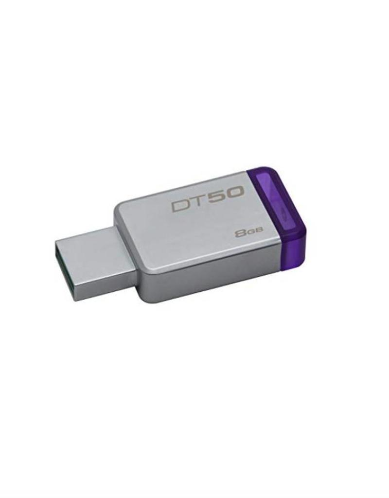 KINGSTON KINGSTON 8GB DATATRAVELER 50 USB 3.0 FLASH DRIVE
