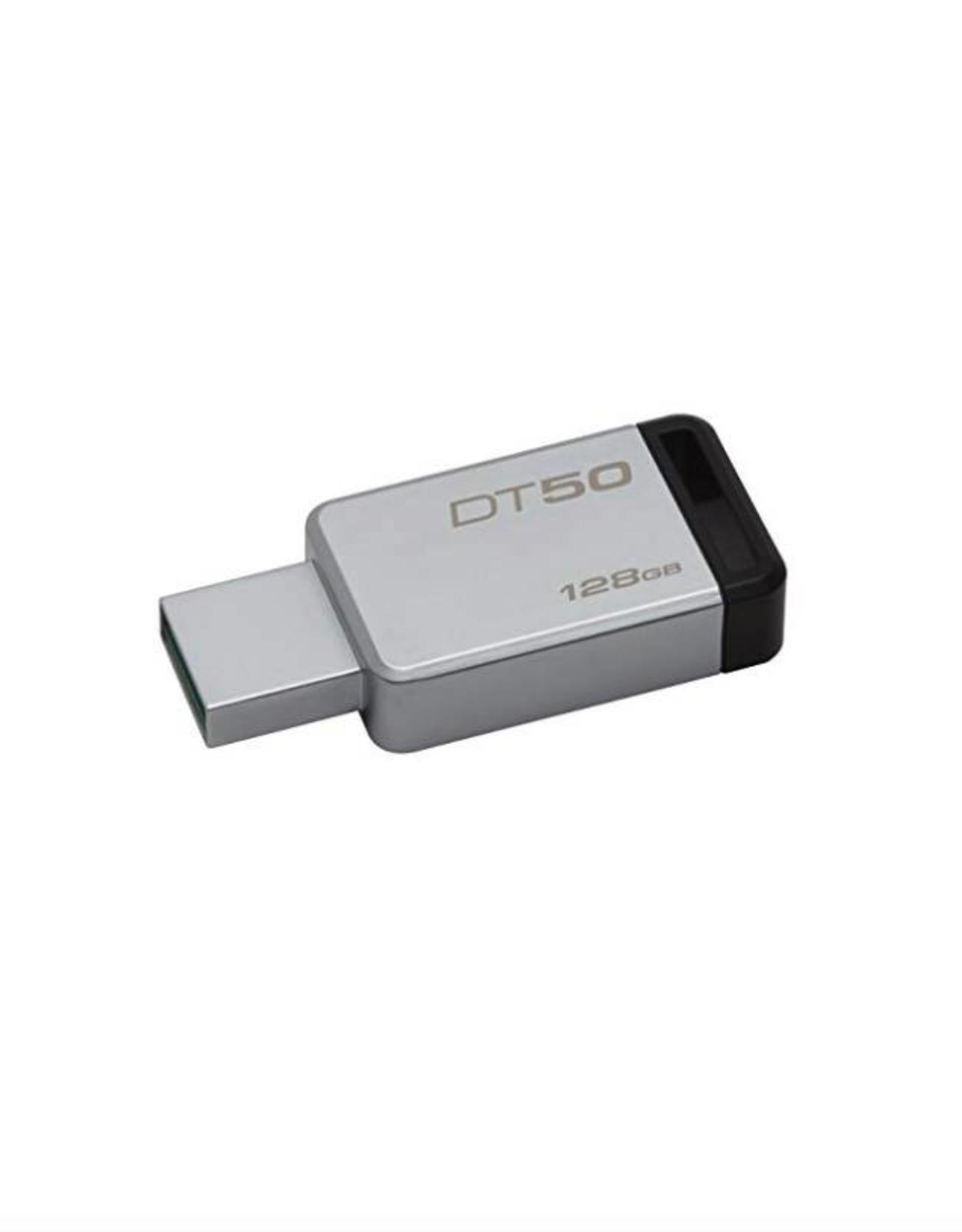KINGSTON KINGSTON 128GB DATATRAVELER 50 USB 3.0 FLASH DRIVE