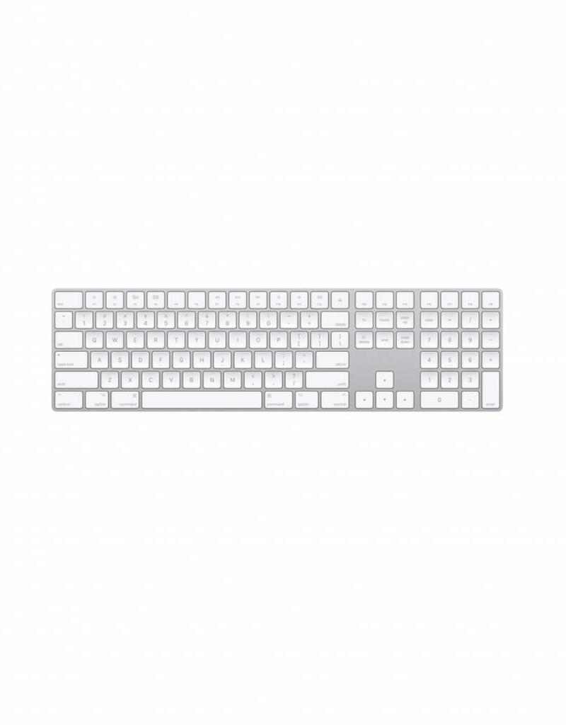 Apple APPLE BLUETOOTH WIRELESS MAGIC KEYBOARD WITH NUMERIC KEYPAD (SILVER)