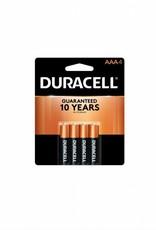 DURACELL DURACELL AAA BATTERY 4PK
