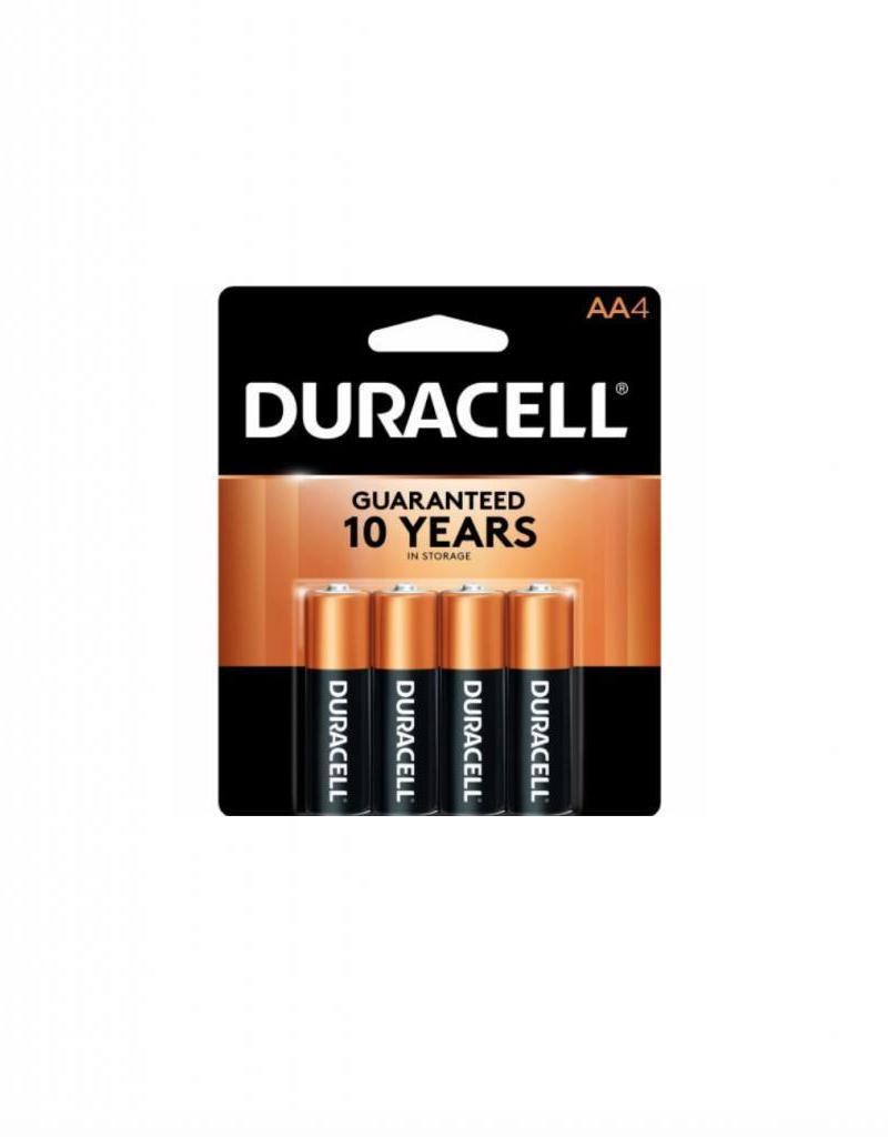 DURACELL DURACELL AA BATTERY 4PK
