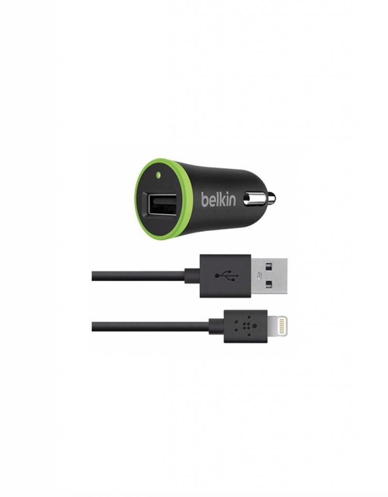 BELKIN BELKIN BOOSTUP USB CAR CHARGER WITH LIGHTNING CABLE