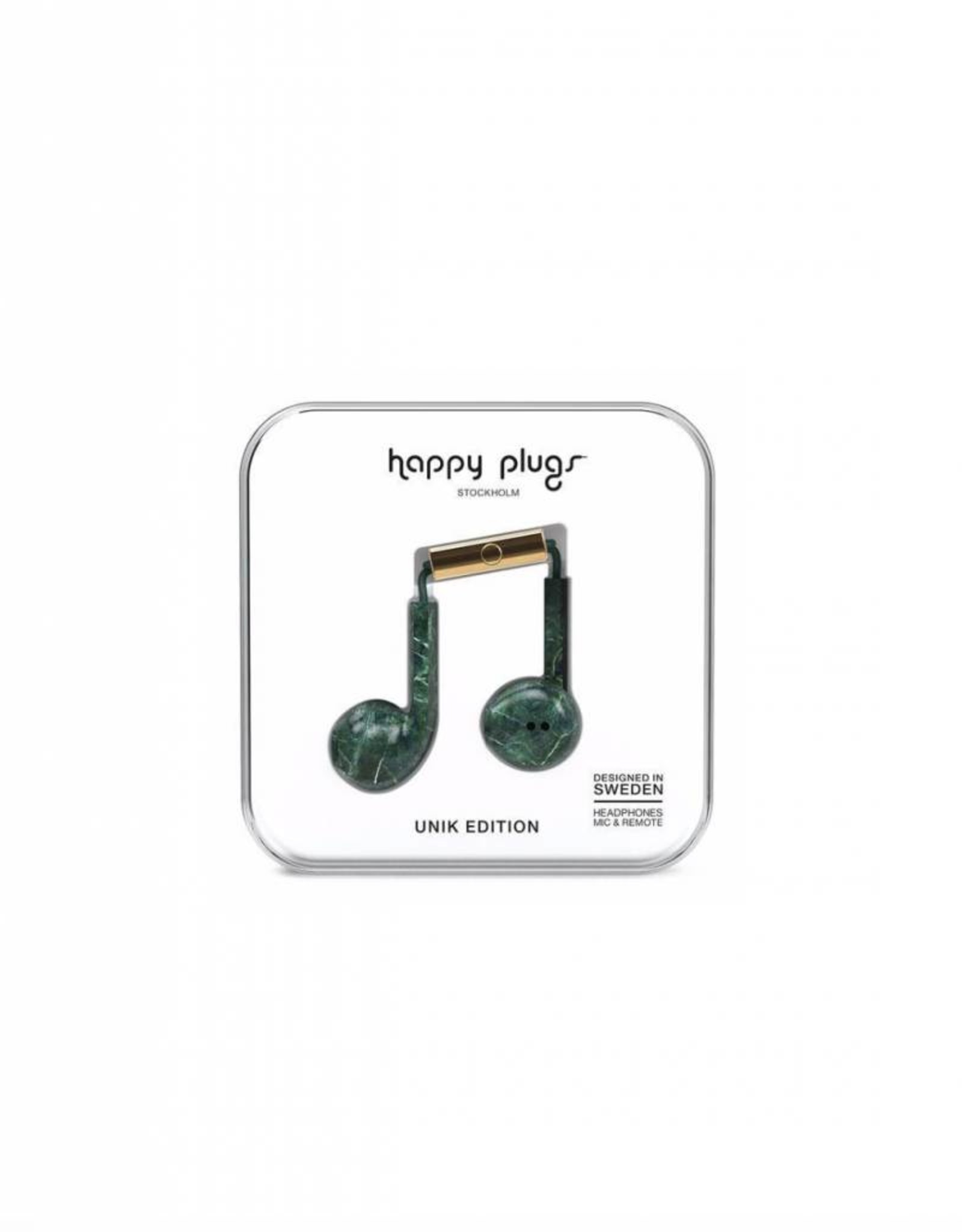 HAPPY PLUGS HAPPY PLUGS EARPOD HEADPHONES WITH REMOTE AND MIC