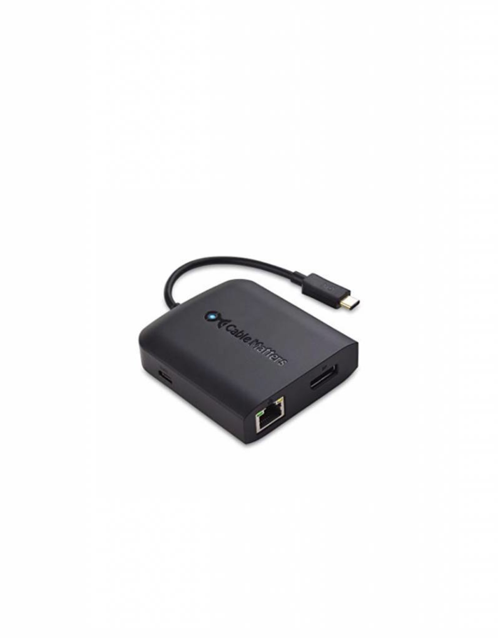 CABLE MATTERS CABLE MATTERS USB-C MULTIPORT ADAPTER (USB/ETHERNET/HDMI)