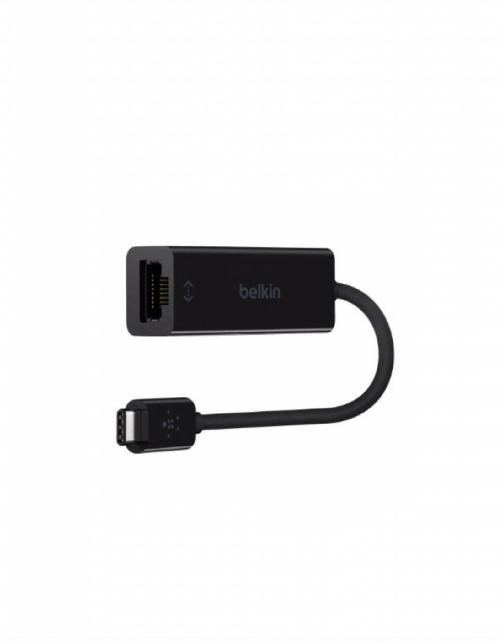 BELKIN BELKIN USB-C TO GIGABIT ETHERNET ADAPTER --BLACK