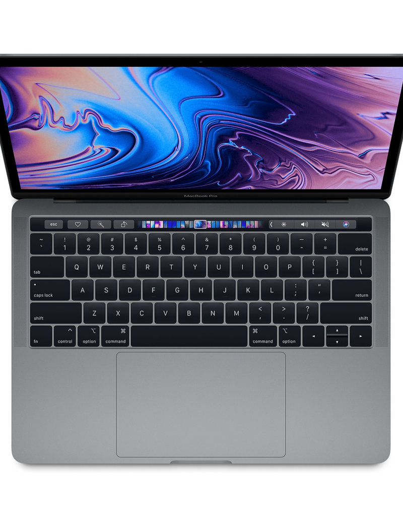"""Apple APPLE MACBOOK PRO 13"""" WITH TOUCH BAR - SILVER (2019-LE)"""