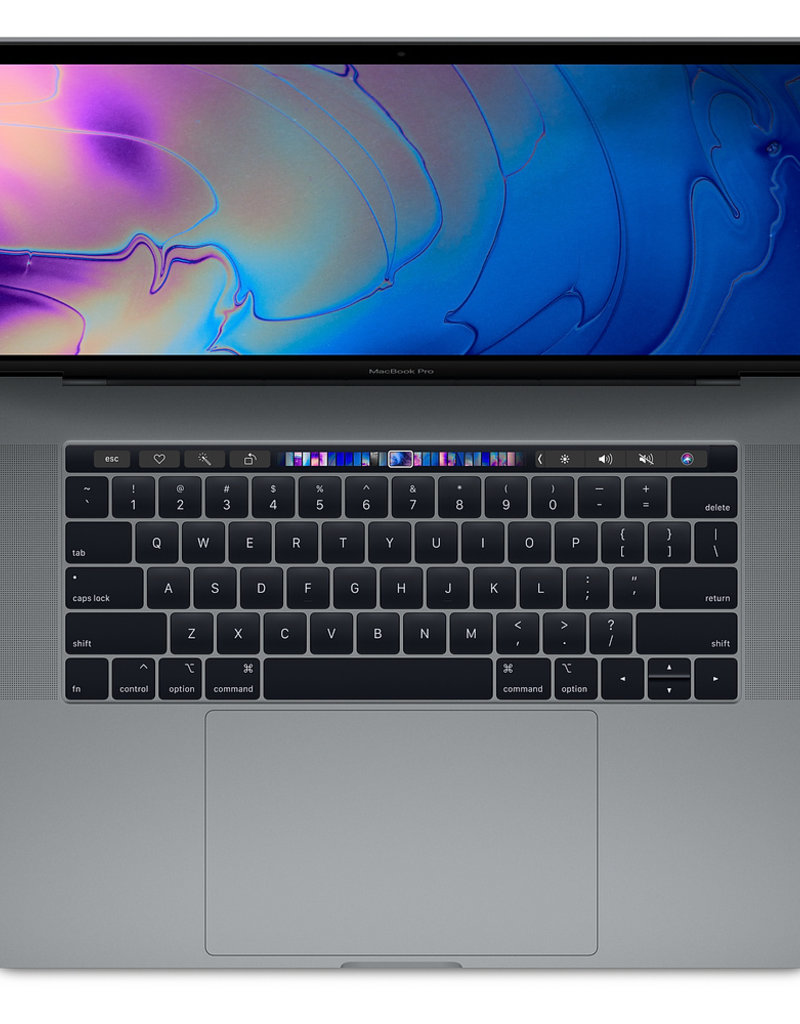 """Apple APPLE MACBOOK PRO 15"""" WITH TOUCH BAR RADEON PRO 555X - SILVER (2019-LE)"""