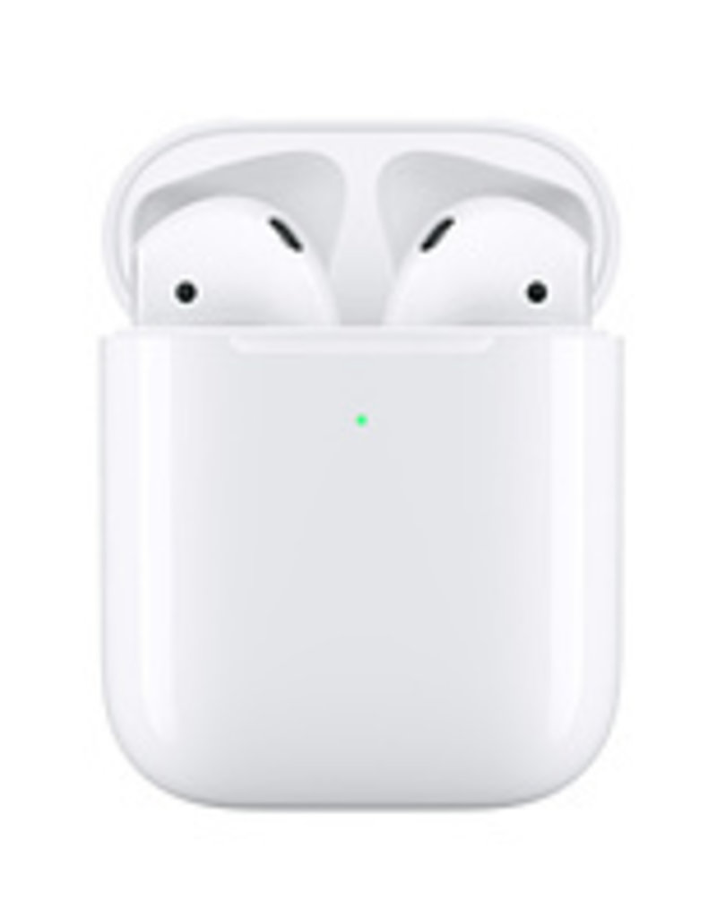 Apple APPLE AIRPODS (2ND GEN) WIRELESS HEADPHONES WITH WIRELESS CHARGING CASE