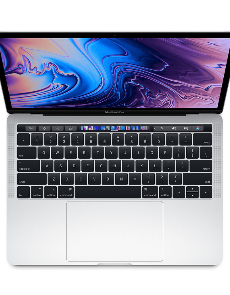 """Apple APPLE MACBOOK PRO 13"""" WITH TOUCH BAR - SILVER (2019-BH)"""