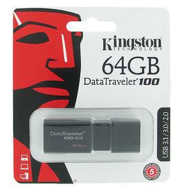 KINGSTON DATATRAVELER 100 G3 64GB USB 3.0 FLASH DRIVE