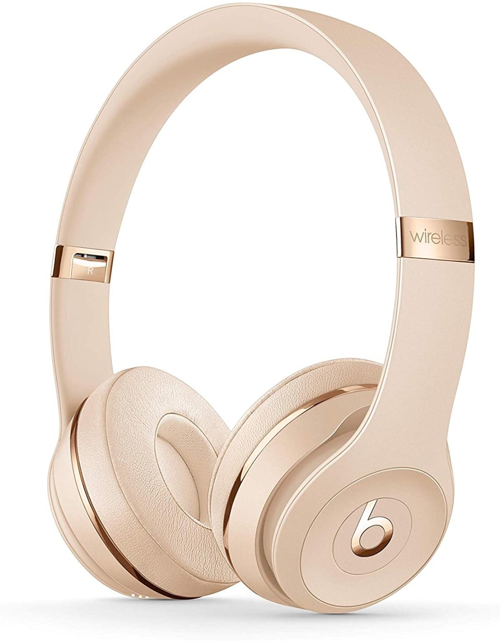 Apple APPLE BEATS SOLO3 WIRELESS ON EAR HEADPHONES - MATTE GOLD