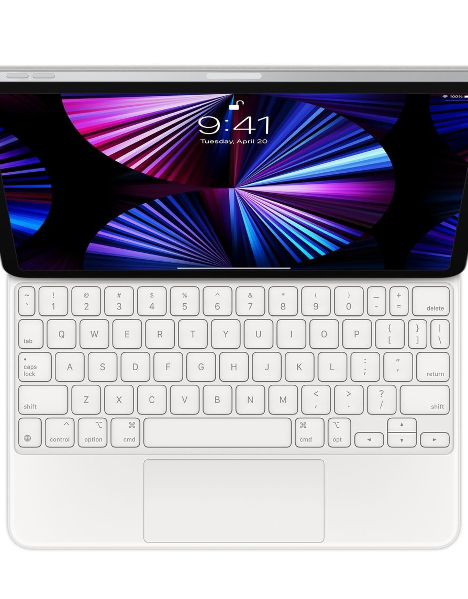 """Apple APPLE MAGIC KEYBOARD FOR 11"""" IPAD PRO (ALL) AND IPAD AIR (4G) - WHITE"""