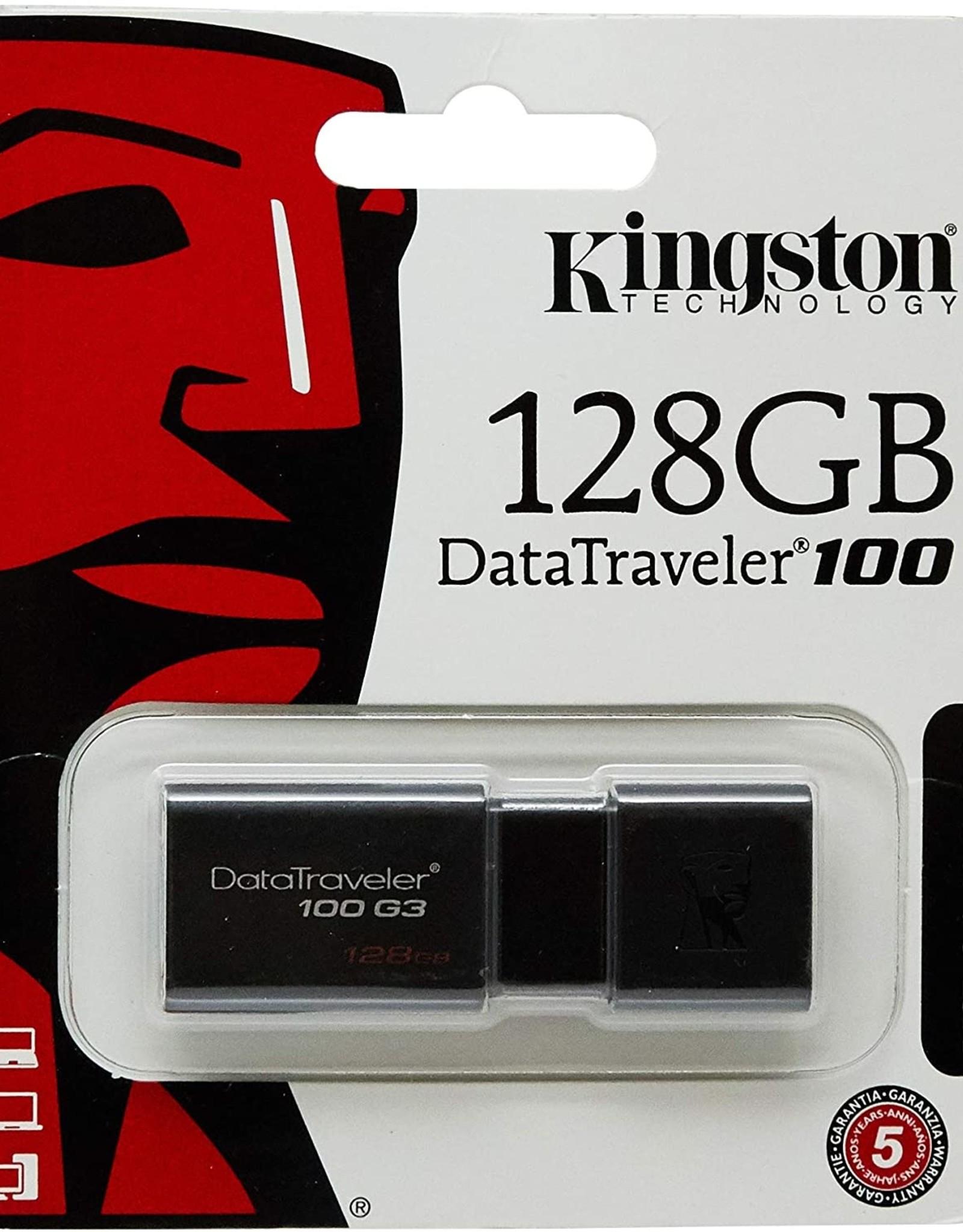 KINGSTON KINGSTON DATATRAVELER  G4 128GB USB FLASH DRIVE