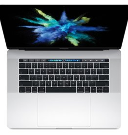 Apple MacBook Pro 15 inch with Touch Bar - Silver 2.8GHZ QUAD-CORE I7 16GB 256GB
