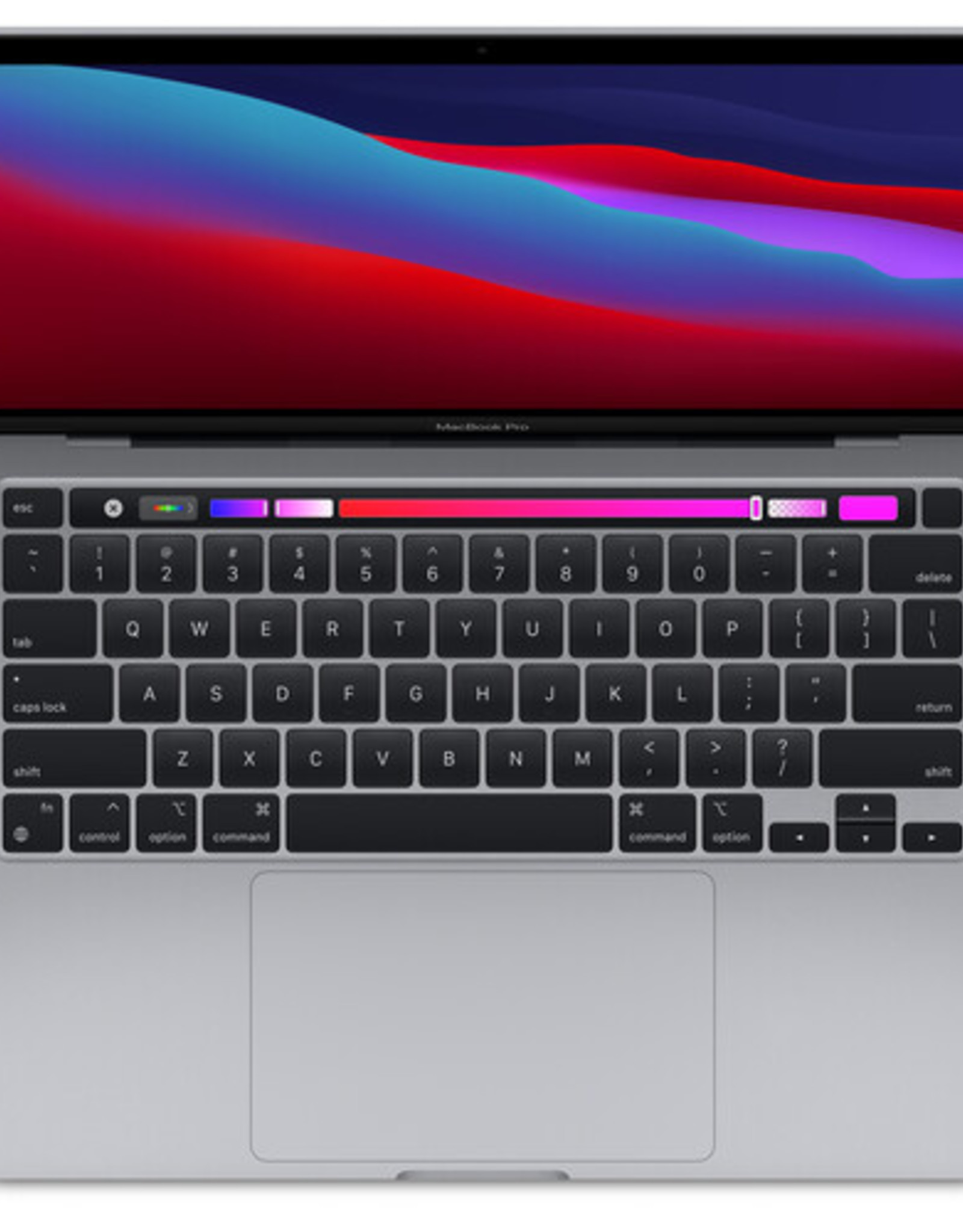 """Apple BTS APPLE MACBOOK PRO 13"""" WITH TOUCH BAR - M1 CHIP - SPACE GRAY 16GB 512GB SSD"""