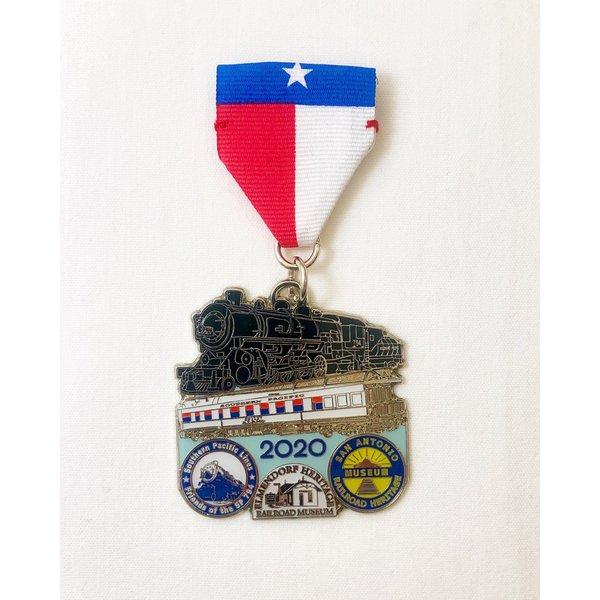 #1 San Antonio Railroad Heritage Museum Medal- 2020