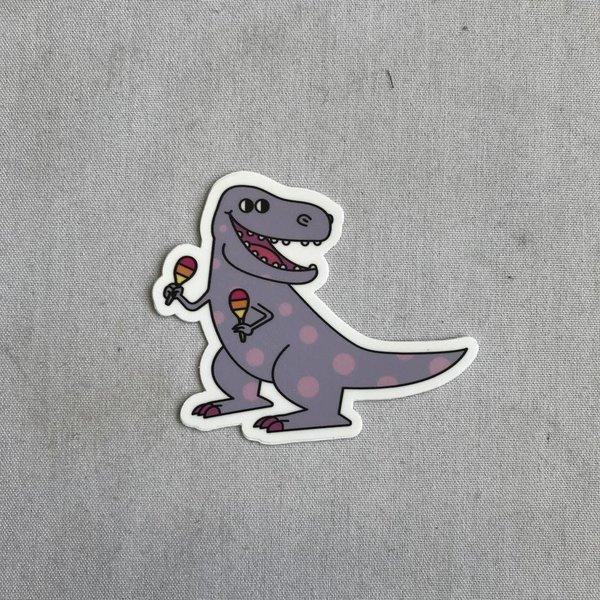 Fiestasaurus Sticker- 20