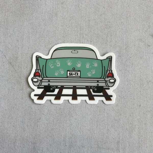 Ghost Tracks Sticker- 20