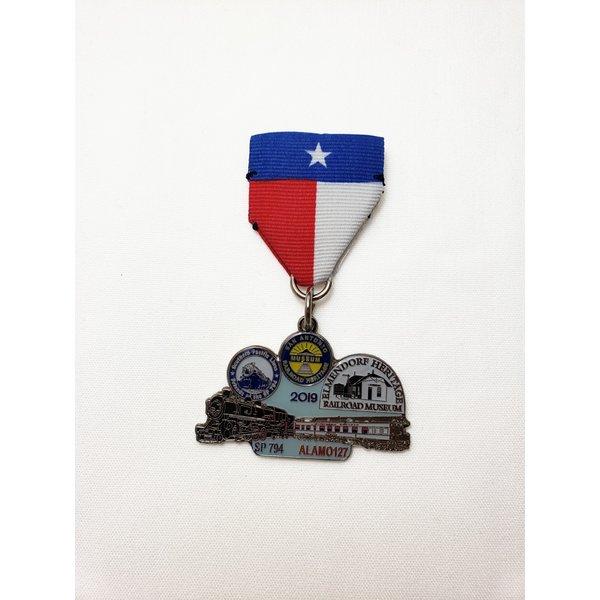 San Antonio Railroad Heritage Musuem Vintage Medal- 2019