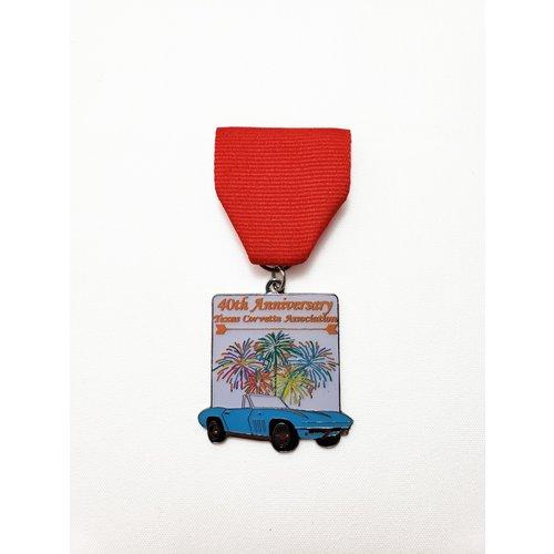 Texas Corvette Association Vintage Medal- 2019