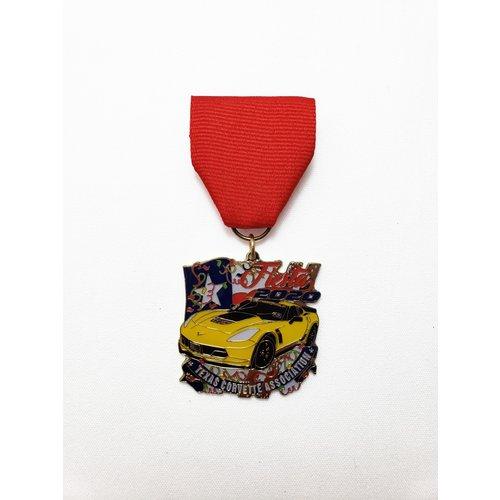 #2 Texas Corvette Association Medal-2020