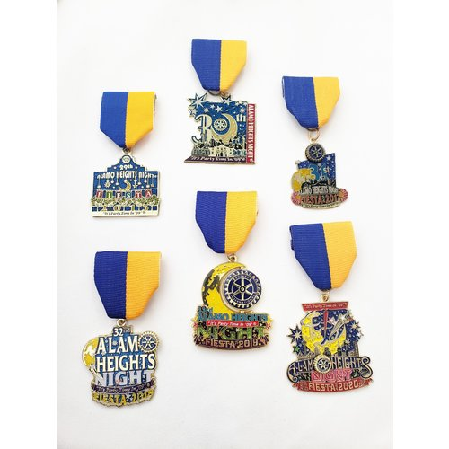 Alamo Height Rotary Club Medal Set- 2020