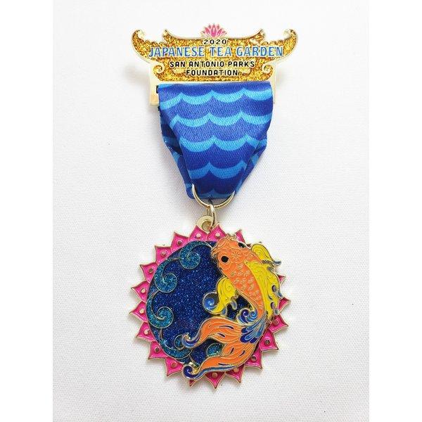 #4 San Antonio Parks Foundation Medal- 2020