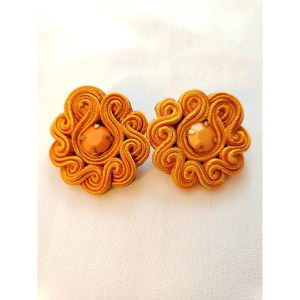 Treasure Jewels Mimi Orange Stud -20