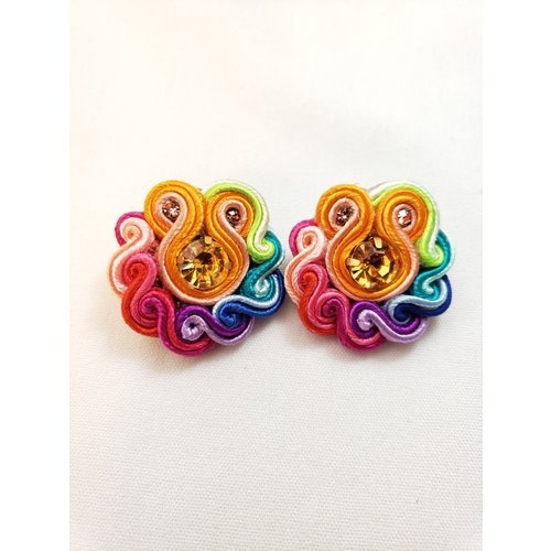 Treasure Jewels Mini Rainbow Stud -20