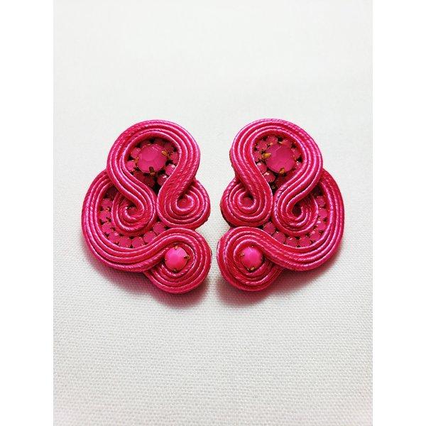 Treasure Jewels Mimi Pink Stud -20