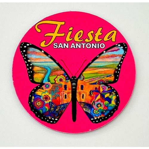 2020 Official Poster Butterfly Coaster