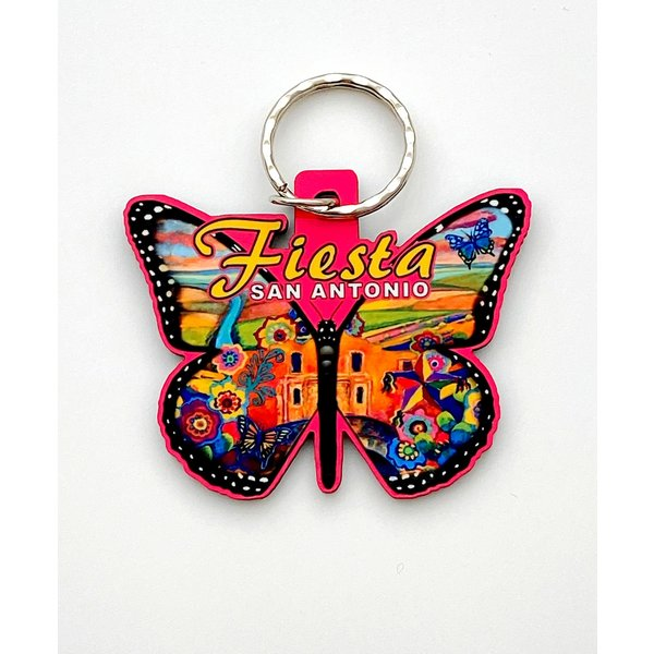 2020 Official Poster Butterfly Keychain