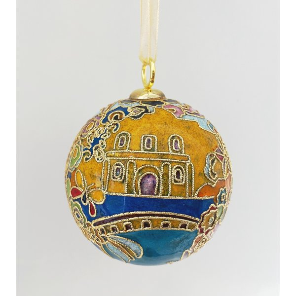 2020 Official Poster Cloisonne Ornament