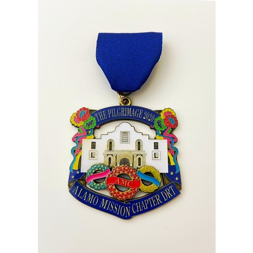 #7 Alamo Mission Chapter DRT Medal- 2020