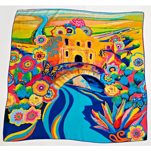 2020 Official Poster Silk Scarf