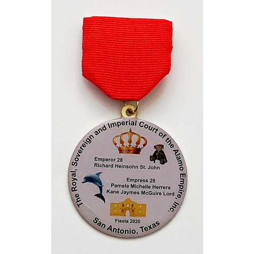 #8 Royal Sovereign and Imperial Court of the Alamo Empire, Inc Medal- 2020