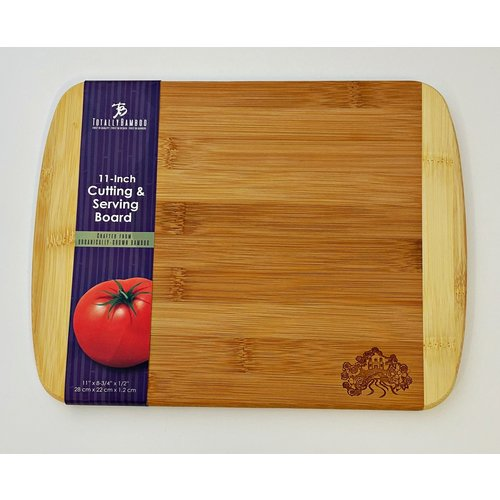 2020 Official Poster Two-Tone Cutting Board