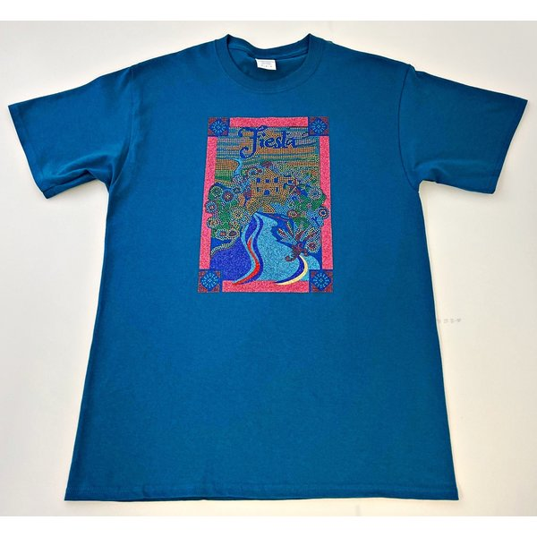 2020 Official Poster Limited Edition Unisex Teal Tee -XLARGE