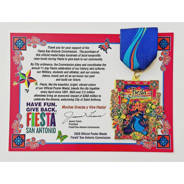 2020 Official Poster Medal