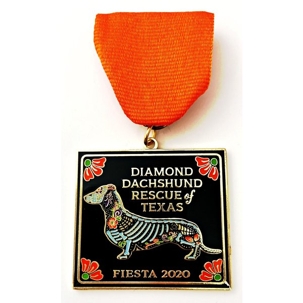 #10 Diamond Dachshund Rescue Medal- 2020