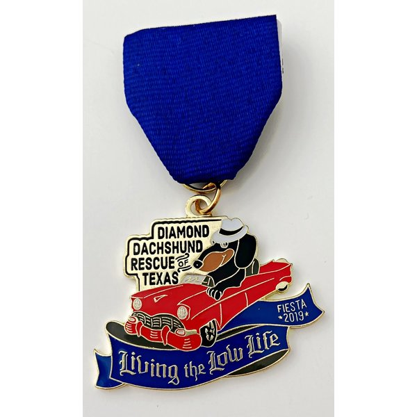 Diamond Dachshund Rescue Medal- 2019